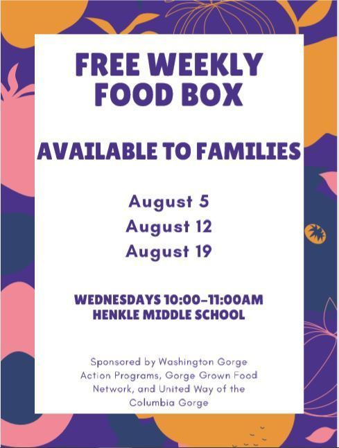 Free Weekly Food Box