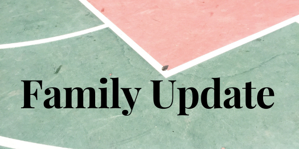 Family Update for In-Person Learning