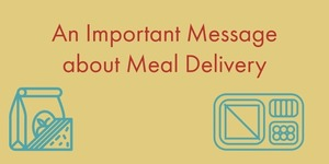 An Important Message about Meal Delivery from The White Salmon Valley School District Transportation Department.